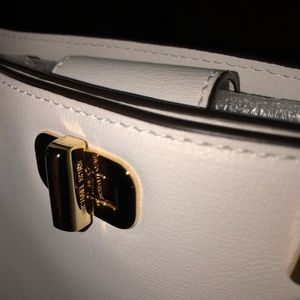 Michael Kors Bags - MICHAEL KORS. Leather Logo Medium Bag.